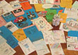 Thank you cards from students at Selwyn Ridge School, Tauranga and Marist Primary, Mt Albert 1